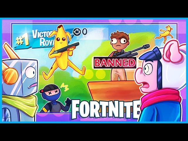 The amount of sh*t that happened in this ONE game of fortnite...
