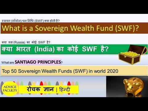 Sovereign Wealth Funds (SWF)-DEFINED & Ranks दुनिया का सबसे बड़ा WEALTH FUND-क्या भारत का कोई SWF है