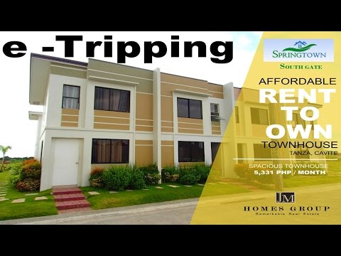 Pagibig Rent to Own Houses in Tanza Cavite Springtown Villas Southgate