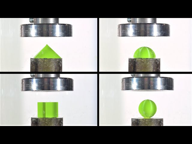 Which is The Strongest Shape? Hydraulic Press Test!