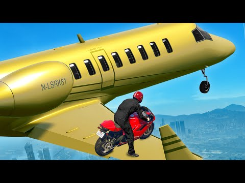 GTA 5 WINS: EP.25 (BEST GTA 5 Stunts &...