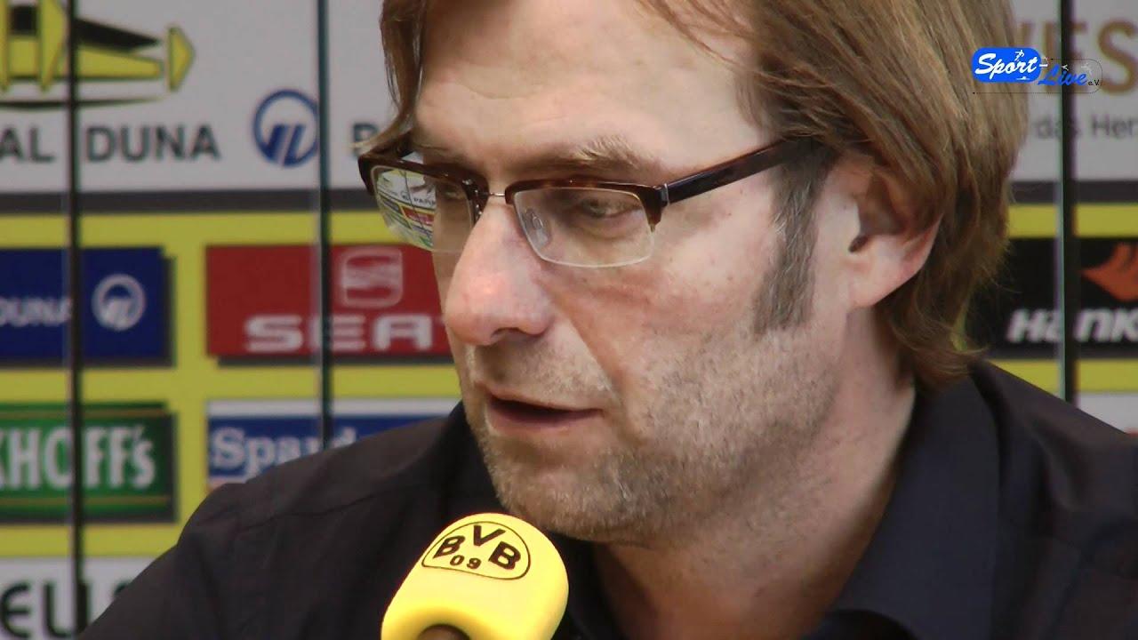 Hertha BSC - Borussia Dortmund - Pressekonferenz mit Jürgen Klopp Teil 1