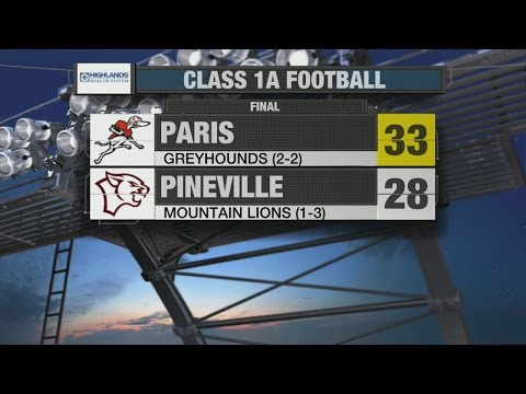 Pineville vs Paris