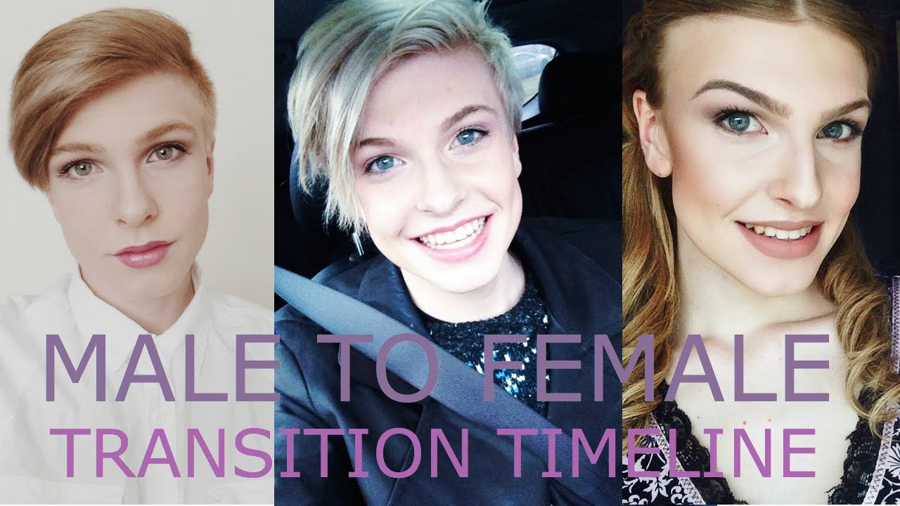 Male To Female  Transition Timeline  Doovi-8270