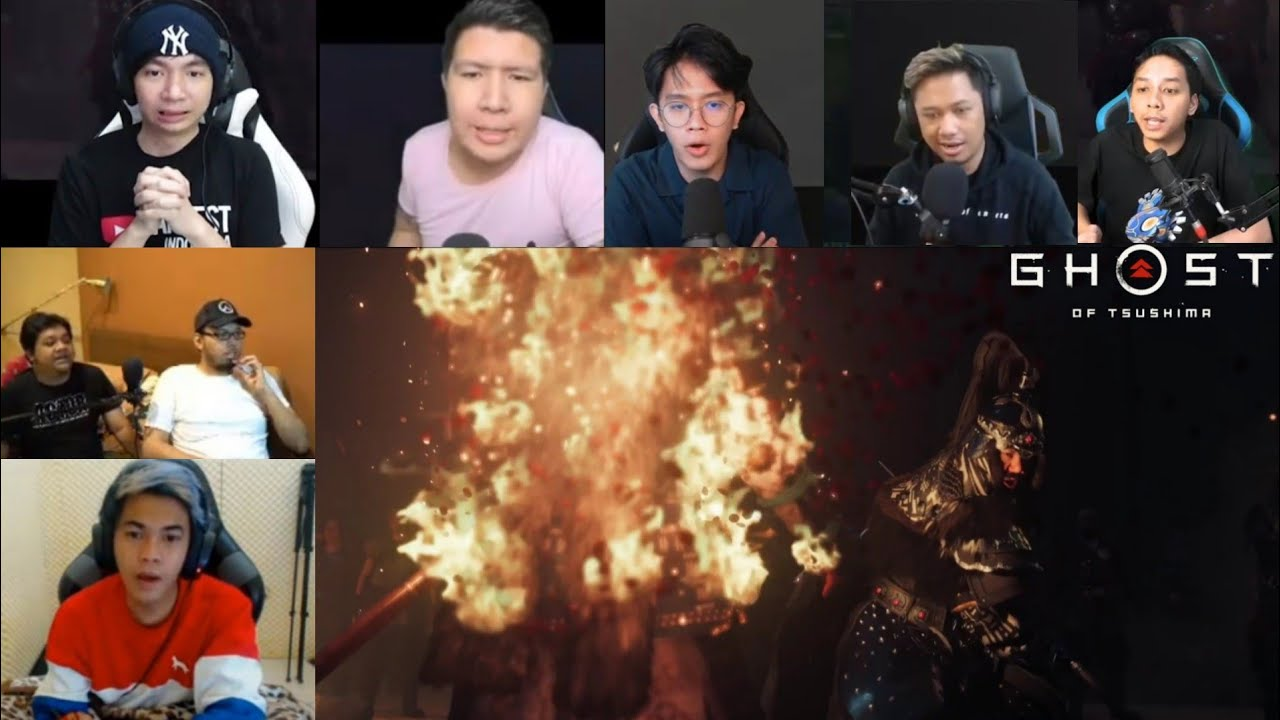Reaksi Gamer Brutalnya Bangsa Mongol (Ghost of Tsushima)