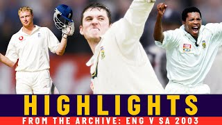 Smith's 259, Ntini 10-fer & Flintoff Brilliance! | Classic Match | England v SA 2003 | Lord's