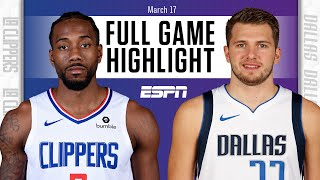 Watch the highlights from a western conference matchup between kawhi leonard, paul george and la clippers against luka doncic, kristaps porzingis the...