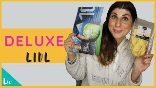 LIDL DELUXE E NON SOLO |🛒🍞 🍪🍧🥟🍤👉GROCERY HAUL SHOPPING
