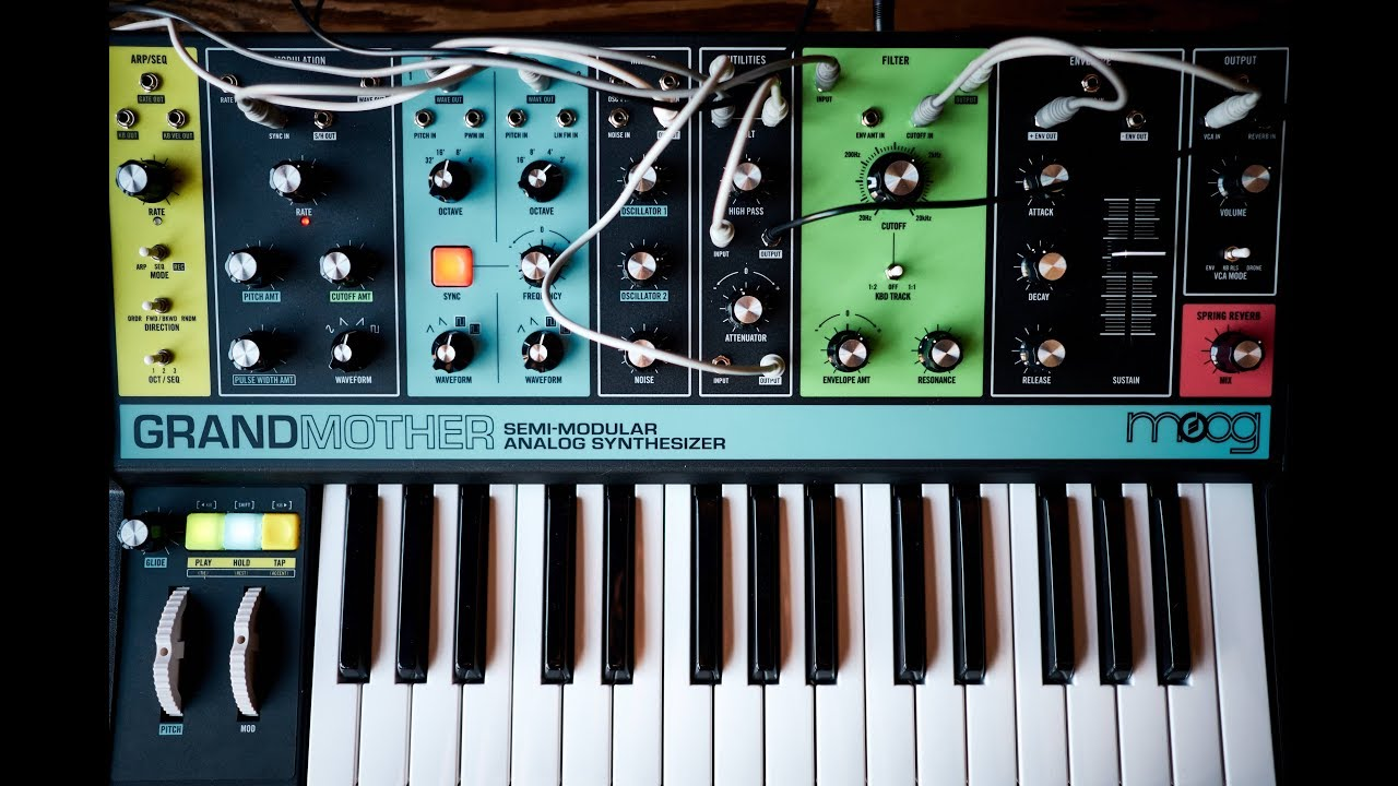 The Build Sound Of The Moog Grandmother Youtube