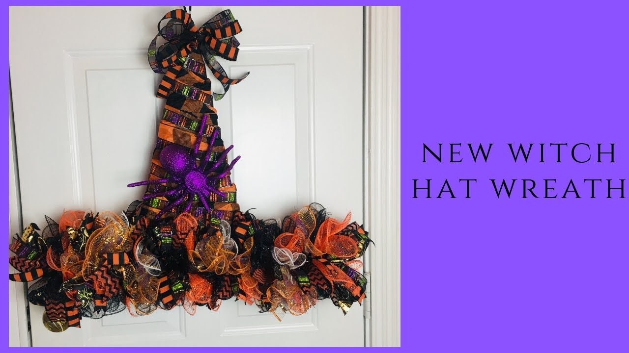Witches Hat Wreath