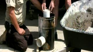 Concrete Rocket Stove Final.avi