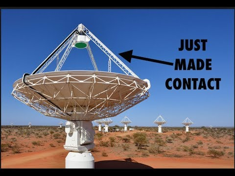 Did We Just Make Contact with Aliens?  Mysterious Fast Radio Burst 180924