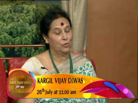 "Watch ""Kargil Vijay Diwas"" on 26 July (Thursday) at 11 am only on DD national"