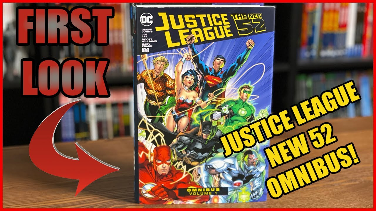 Download Justice League: The New 52 Omnibus Volume 1 Overview