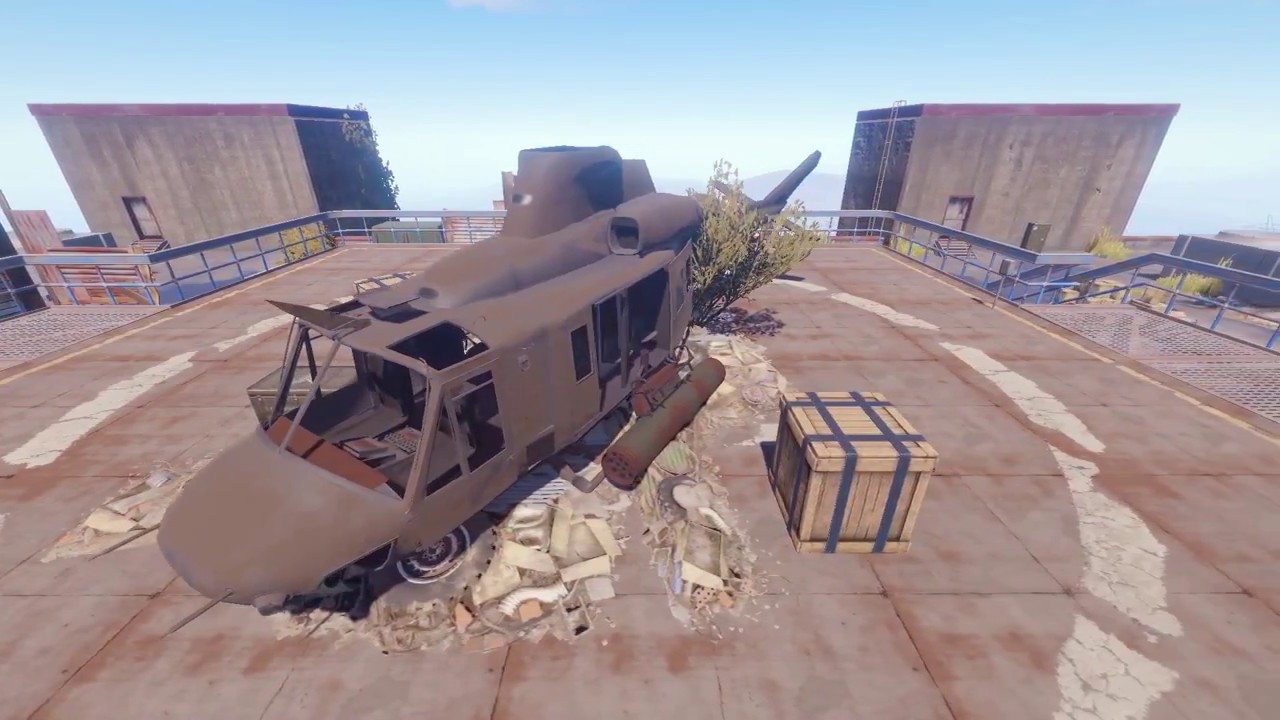 Rust - Looting The Launch Site