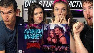 AANKH MAREY | Simmba | Ranveer Singh | Music Video Reaction!