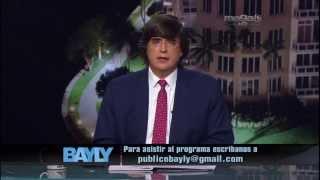 Bayly - En Venezuela no hay harina, pollo, arroz, ni papel higiénico. Mayo,15. 1/2