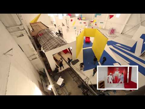 OK Go - Behind the Scenes of the Red Star Macalline Commercial