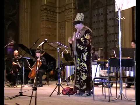 Heute Abend Boris Godunov  1 Mini-mono-opera for  bass-baritone and instrumental ensemble