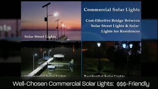 Basics About Commercial Solar Lighting