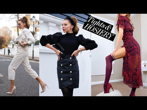 How To Style: Tights / Hosiery For Winter + LOOK BOOK