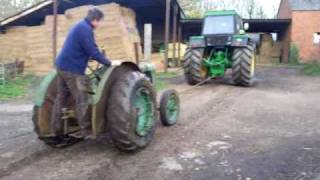 Tow Starting A Standard Fordson