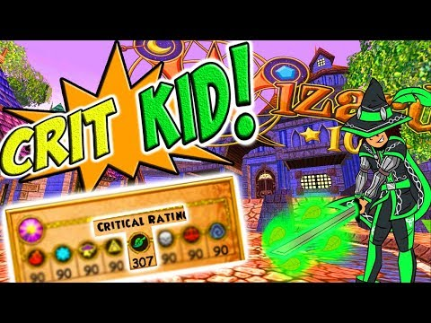 Wizard101: They Call Me The CRIT KID!! (PvP)