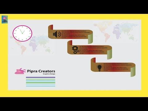Illustrator CC Tutorial  Graphic Design Infographic design Tutorial 2019 thumbnail