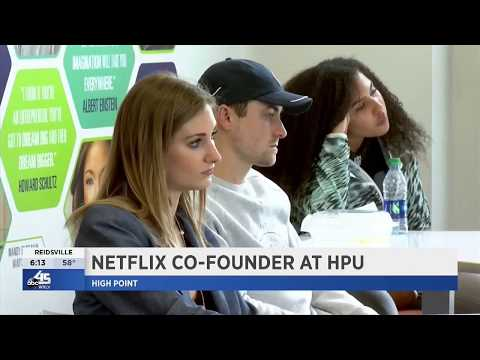 WXLV: Netflix Co-Founder Returns to HPU to Mentor Students