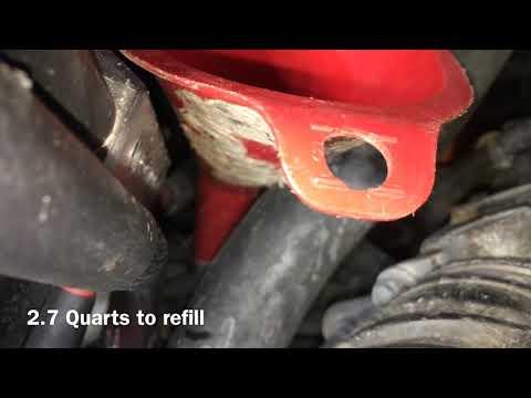 2013 Honda CR-V Transmission Fluid and Filter Change
