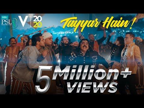 Tayyar Ho | Official Anthem | HBL Pakistan Super League 2020
