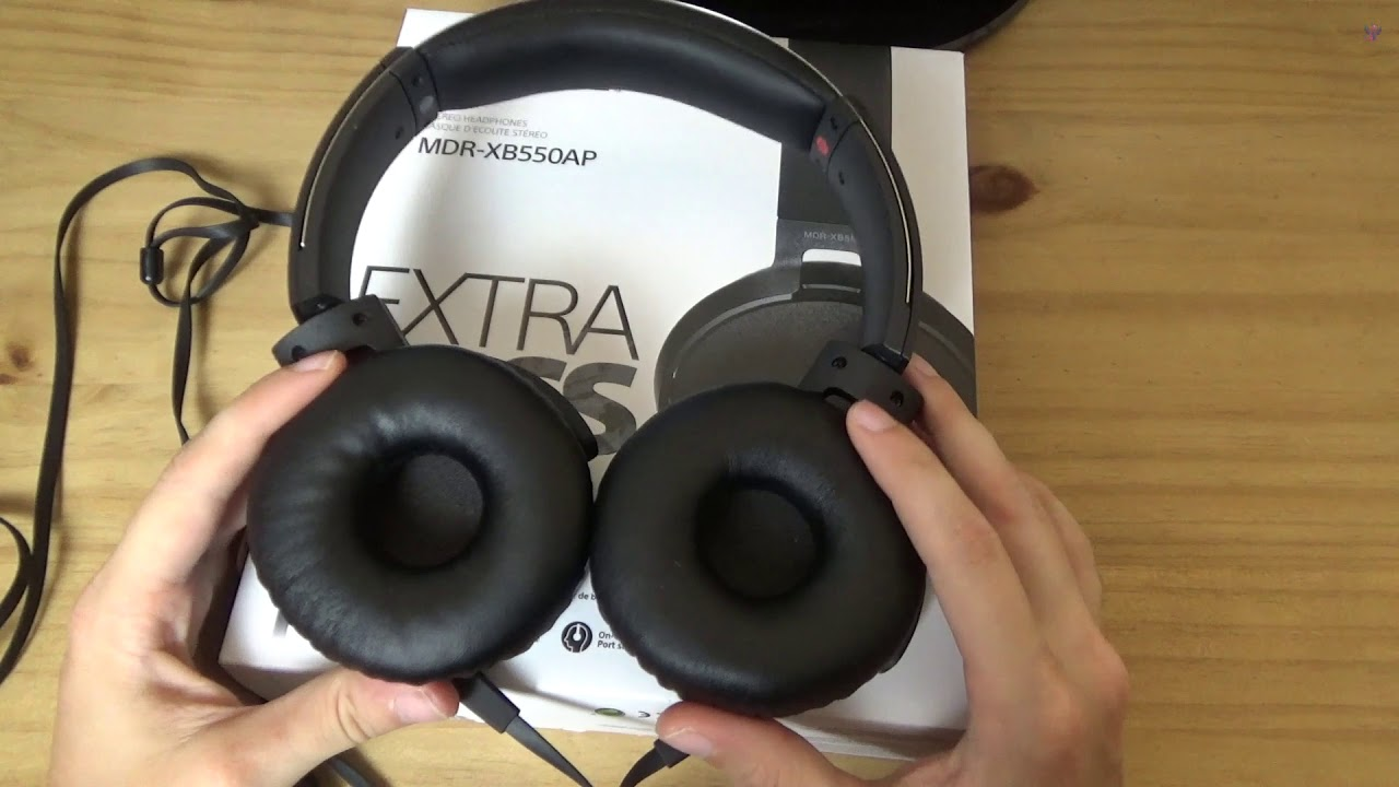 Sony Mdr Xb550ap Extra Bass Review Youtube