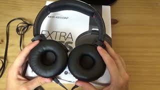 Sony MDR-XB550AP Extra Bass Review