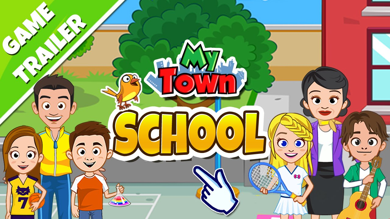 My Town School Game Trailer Youtube