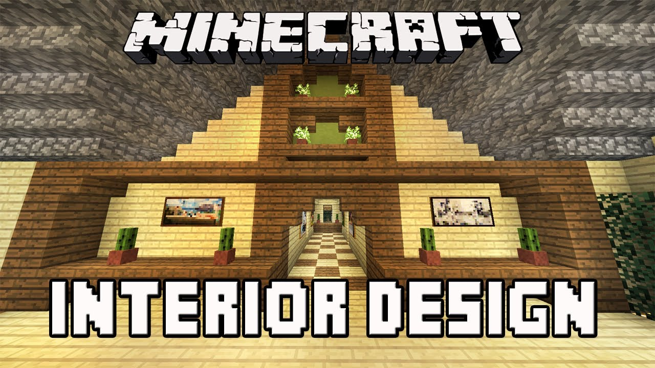 Minecraft Tutorial Awesome Interior House Design Tips House Building Project Part 34 Youtube