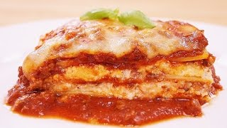 Lasagna Recipe: How To Make: Beef And Cheese Lasagna: Diane Kometa: Dishin With Di # 163