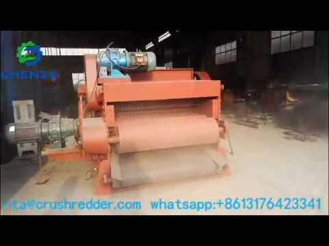 20-30t Per Hour Drum Wood  Pallet Chipping Crusher древесная дробилка
