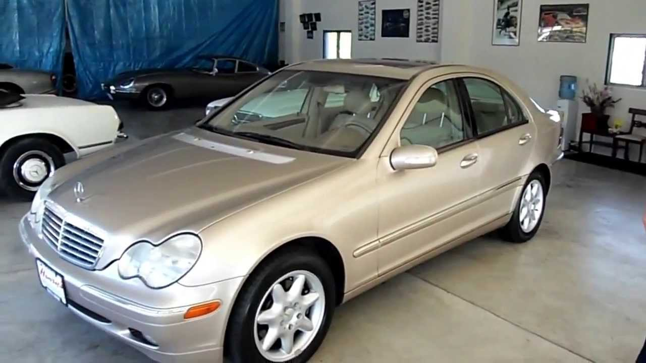 official review mercedes benz c320 2001 review youtube