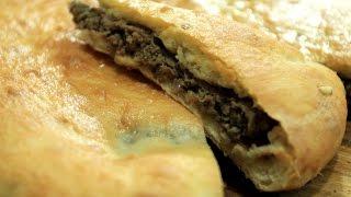 Осетинский пирог с мясом (фыджин)(Рецепт осетинского пирога с мясом или как его еще называют по другому фыджин., 2016-05-01T13:48:04.000Z)