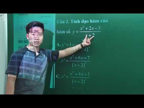 Tính Đao Hàm Bằng Máy Tính Casio _ Thầy Nguyễn Quốc Chí
