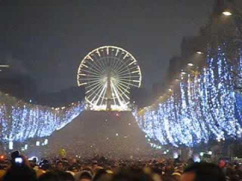 Capodanno a parigi champs elysees youtube for Parigi champ elisee
