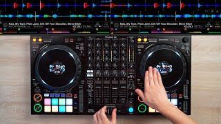 PRO DJ DOES INSANE MIX ON THE DDJ-1000 - Fast and Creative DJ Mixing Ideas