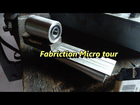 Fabrication Micro tour Part1: Broche