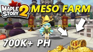 Maplestory 2 - Meso Farm 700k+ PH