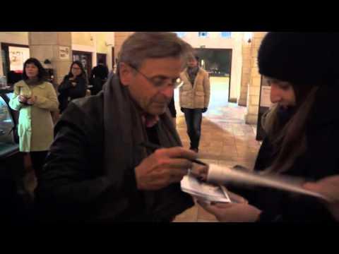Mikhail Baryshnikov has been signing posters in Tel-Aviv, 18.01.16
