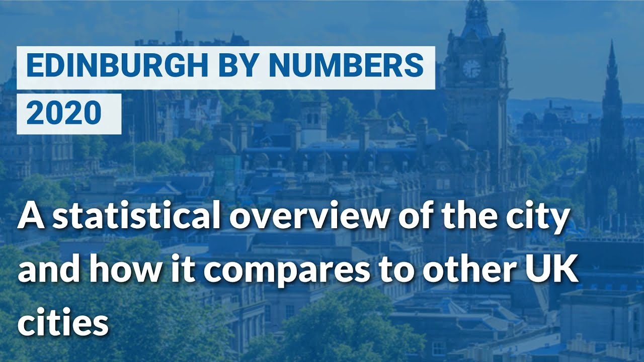 Edinburgh by Numbers - April 2021 - 14th Annual Edition