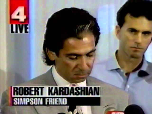 Robert Kardashian Reads Oj Simpsons Suicide Letter Video