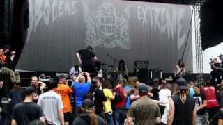 RATBOMB - new born hobo with broken teeth + petroleum (live OEF 2013)