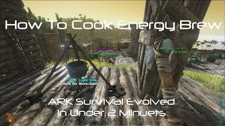 ARK Survival Evolved: How To Cook Energy Brew