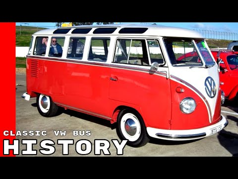 Classic VW Bus History Explained